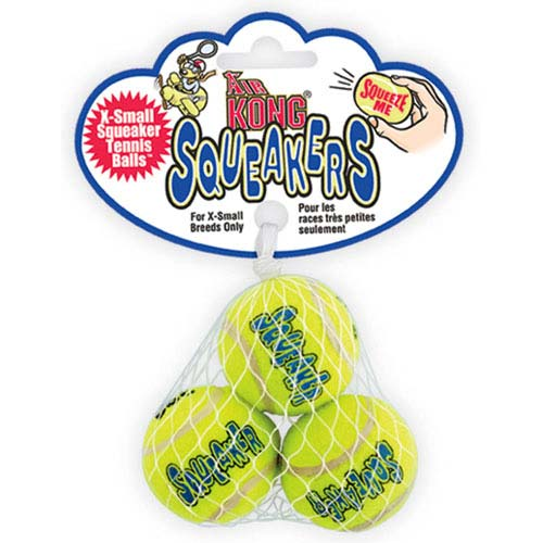 Air Squeaker Balls Small 3 Pack-0