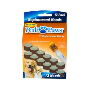 PediPaws Replacement Heads 12 pack-0