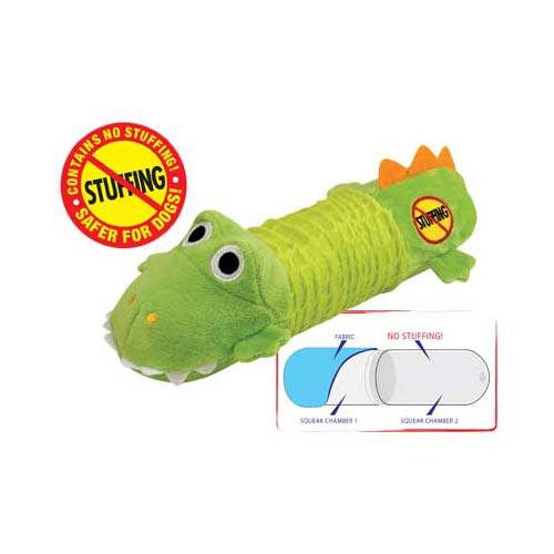 Stuffing Free Big Squeak Gator-0
