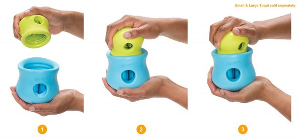 West Paw Design Zogoflex Toppl Treat Toy-10721