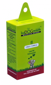 bioDOGradable Waste Pick Up Bags (45 Bag Box)-0