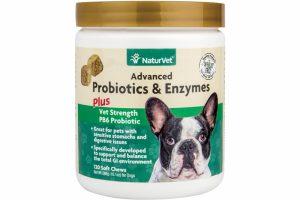 NaturVet Advanced Probiotics & Enzymes Plus Soft Chew Jar 120 CT-0