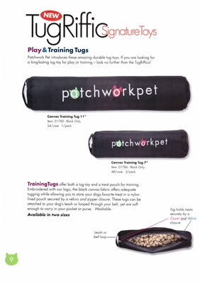 Patchwork Pets Canvas Training Tug-10895