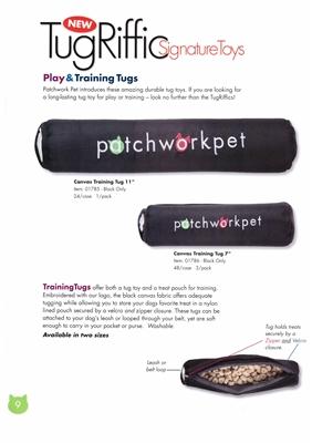Patchwork Pets Canvas Training Tug-10895