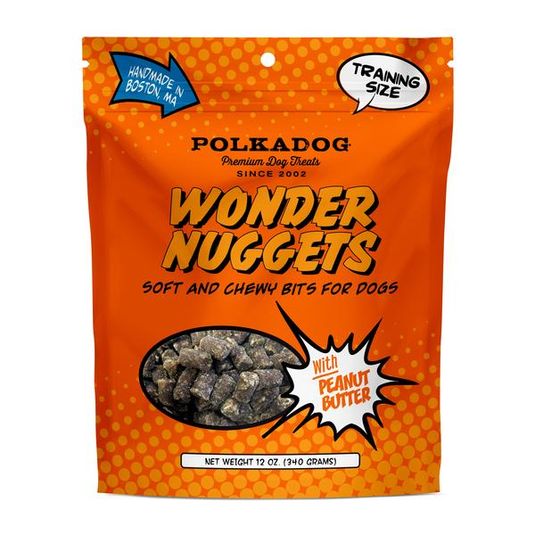 PolkaDog Wonder Nuggets, Peanut Butter 12oz bag-0