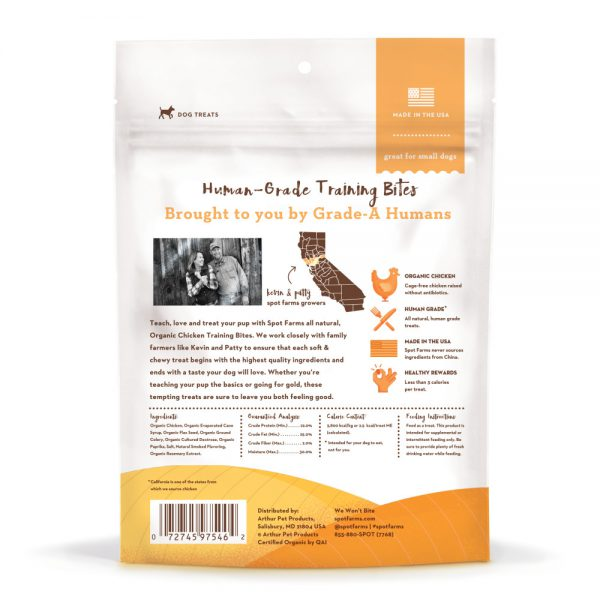 Spot Farms Organic Chicken Training Bites-10909