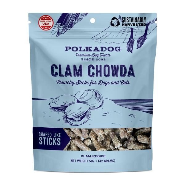 PolkaDog Clam Chowder 5oz Bag-0